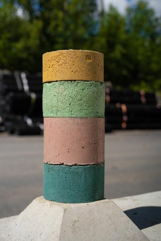 Fargeprøver fra Feiring Asfalt.