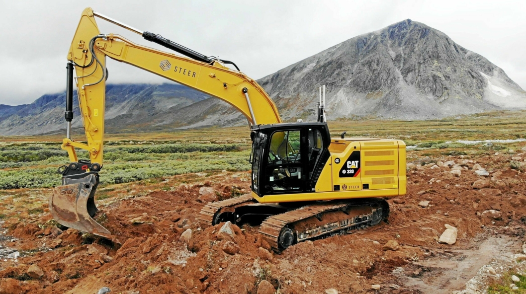 Maskiner fra blant annet Volvo og Caterpillar er testet ut i pilotprosjekter for aktører som Statnett, Orica Explosives og Forsvaret.