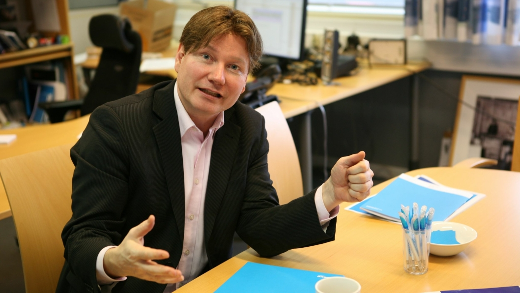 - Nå er grensen nådd, sier kommunikasjonsdirektør Ole Andreas Hagen i PostNord. Foto: Per Dagfinn Wolden