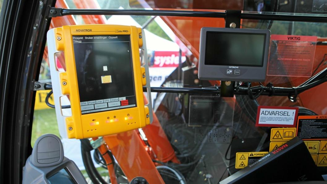 GPS-TYVERIER: Politiet advarer mot GPS-tyverier fra anleggs- og landbruksmaskiner. Det er registrert mange forhold på Sør- og Østlandet.