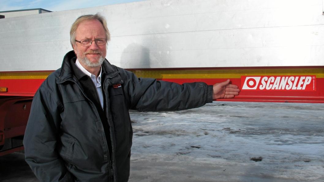 Daglig leder Egil Løver i Scanslep AS har en stor ettermarkedssatsing på gang. Bilde fra 2015.