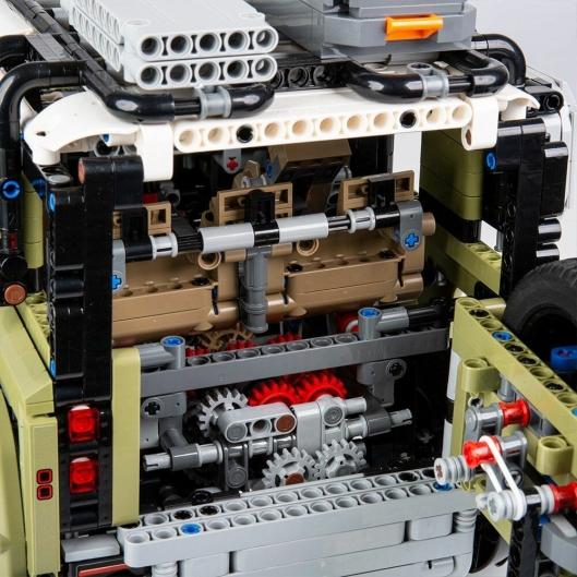 Dette er den mest avanserte girkassen som Lego noensinne har produsert til et Technic-produkt.