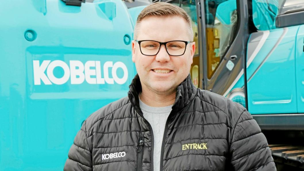 TAR OVER: Trond Berkana går fra stillingen som salgs- og markedssjef i Entrack og blir daglig leder i selskapet.