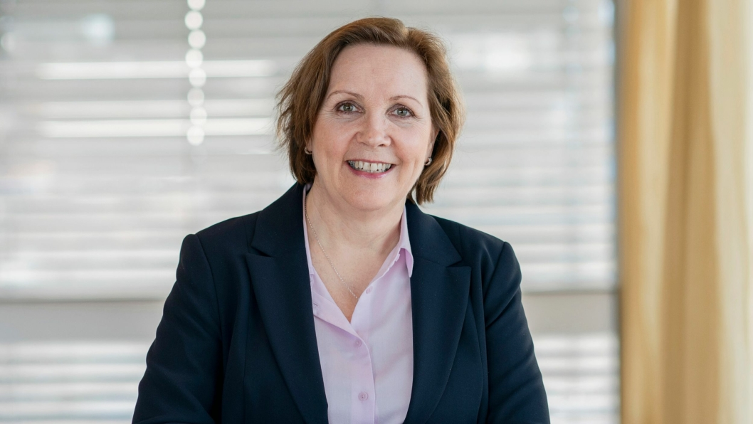 Konsernsjef Grethe Bergly gjør endringer i ledelsen.