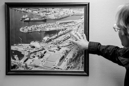 TRANSPORTSENTRUM: Containerhavnen er et yrende liv med mye logistikk. Det har det vært lenge, og det kommer det til å forbli i lang tid.