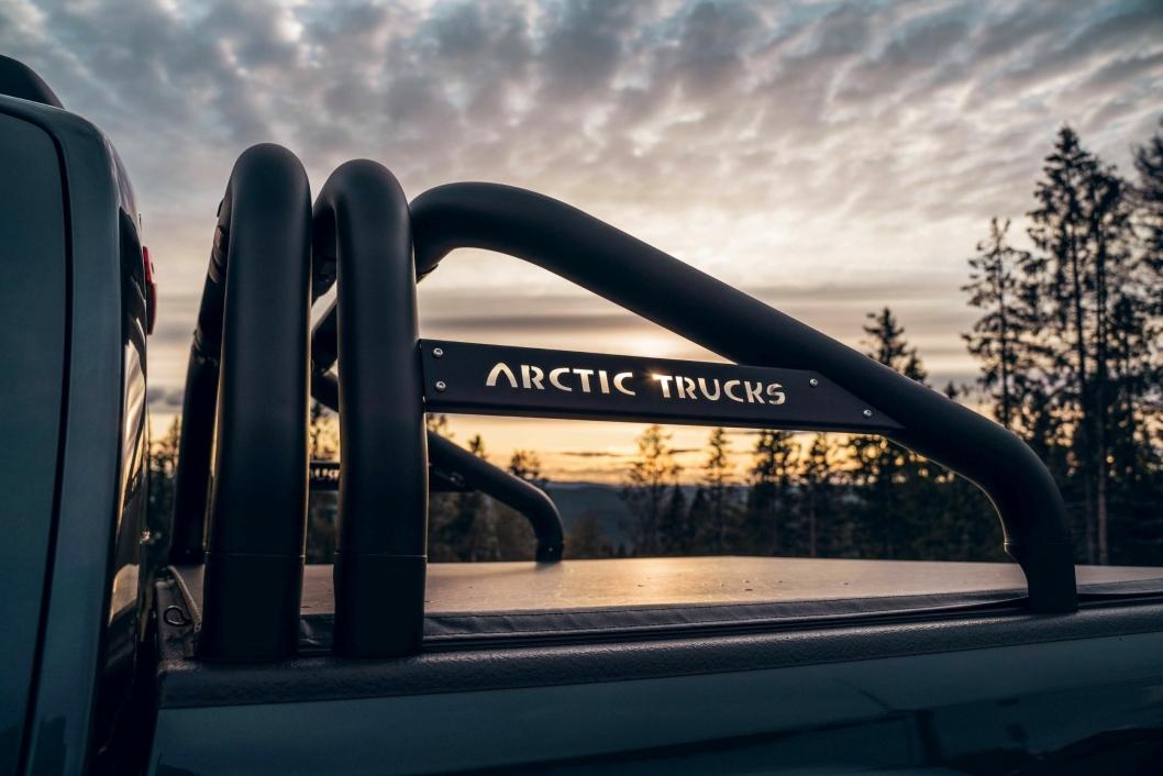 SAMARBEID: NORTH33 er et samarbeid mellom Isuzu Norge og Arctic Trucks.