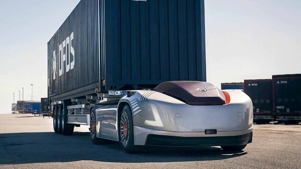 Den autonome og elektriske trekkvogna Volvo Vera kommer til messen Transport & Logistikk 2019.
