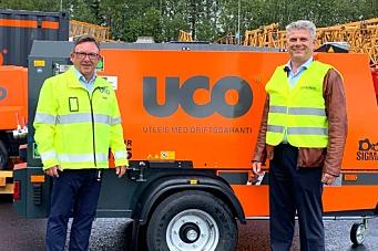 Kaeser-kompressorer med UCO-profil