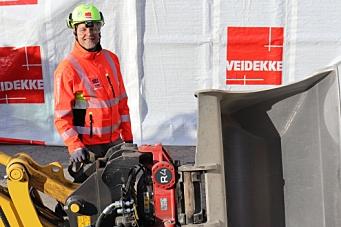 Veidekke innfører sikkerhetskrav for gravemaskiner