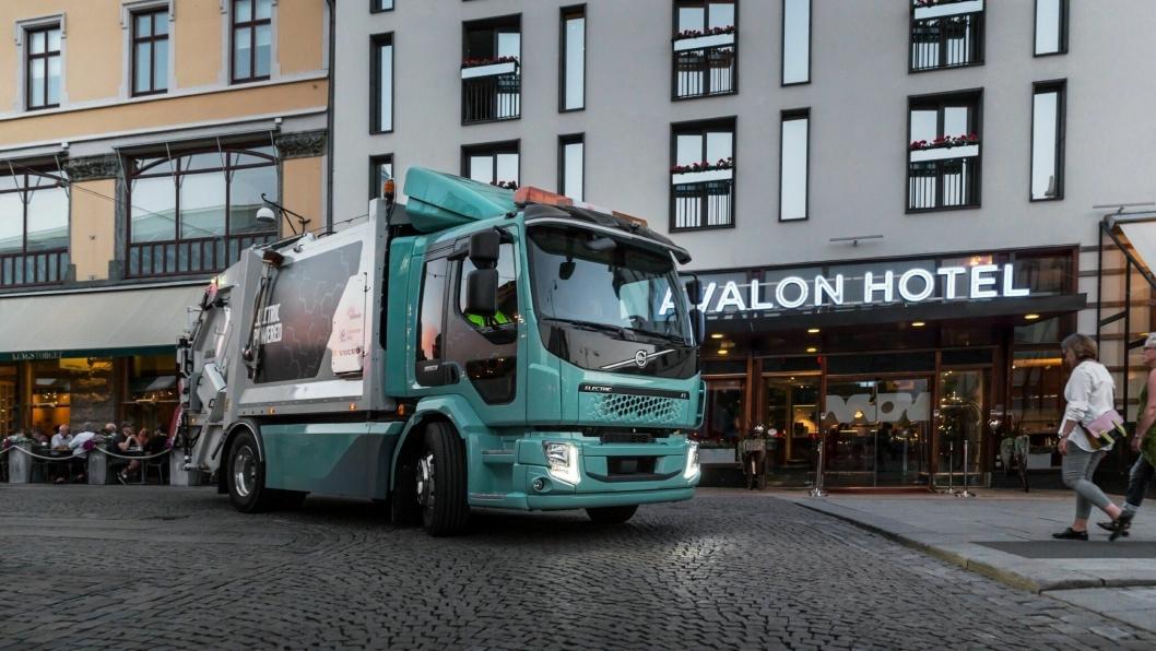 Volvo starter salget av elektriske lastebiler inntil 26 tonn i Norge i løpet av 2019.