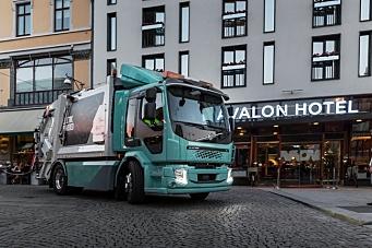 Volvo starter salget av el-lastebiler i Norge