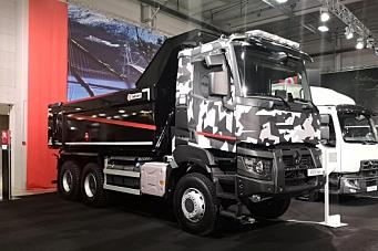 Starter salg av anleggsbilen Renault K i Norge