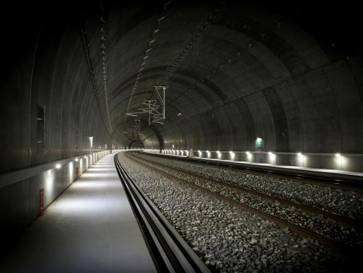 Foto av tunnel på Vestfoldbanen.