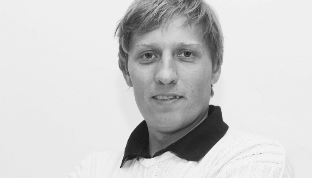 Redaktør Klaus Eriksen i Anlegg&Transport.