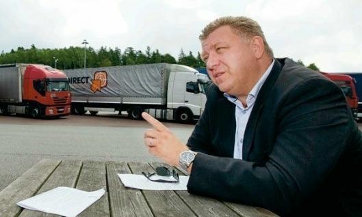 I likhet med Sverre Myrli reagerer lastebilgeneral Geir A. Mo kraftig på Bring Truckings oppførsel.