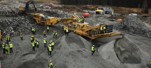 Viser over 50 knuse- og sikteverk i Østfold