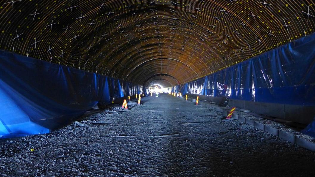 Illustrasjonsbilde av tunnelrehabilitering.