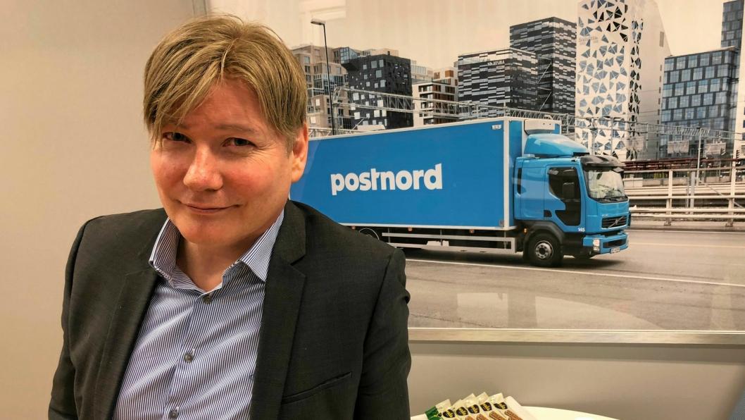 Kommunikasjons- og markedsdirektør Ole A. Hagen  i PostNord, sier at regjeringen med det nye budsjettet gjør det umulig for PostNord å bruke det mest effektive klimatiltaket.