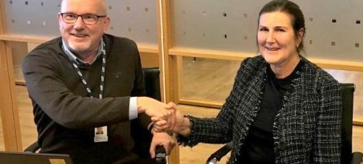 Nye Veier og Hæhre Entr. signerte historisk avtale