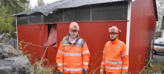 Sprengningsulykke på E134 Damåsen-Saggrenda
