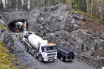 50 år gammel tunnel i Numedal oppgraderes