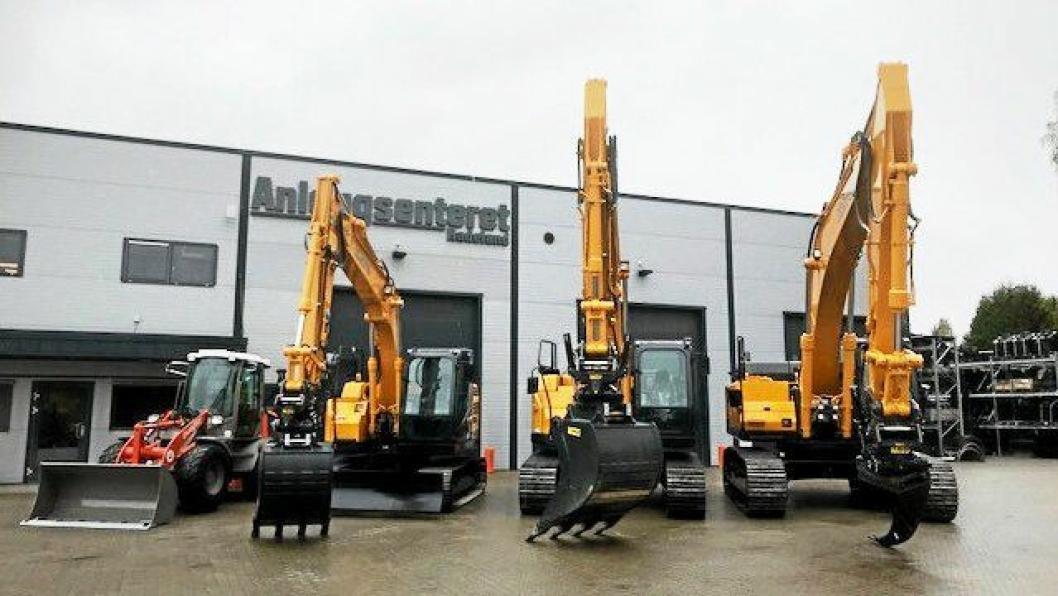NYTT SAMARBEID: Anleggssenteret Hadeland AS går inn på eiersiden i Bulder og skal drive salg av maskiner og utstyr. Bulder skal hovedsakelig utføre service.