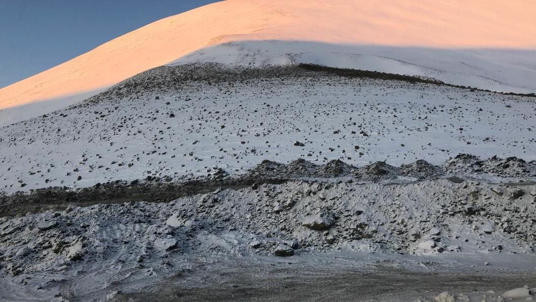 Lunckefjell etter stenging og tilbakeføring til naturen.