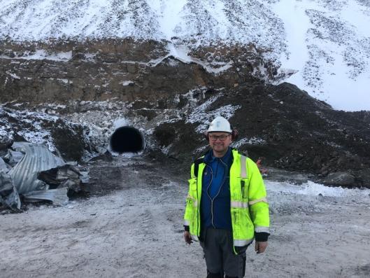 Anders Ringheim, byggeleder Store Norske.