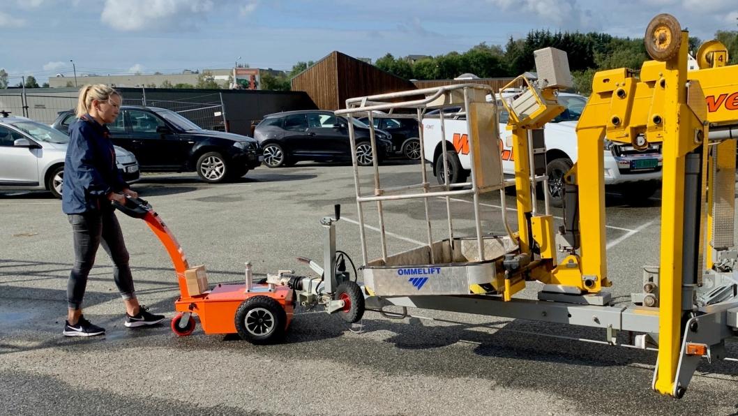 Attack Trailer gjør det lettere å flytte tilhengere inntil 1,5 tonn uten bil.