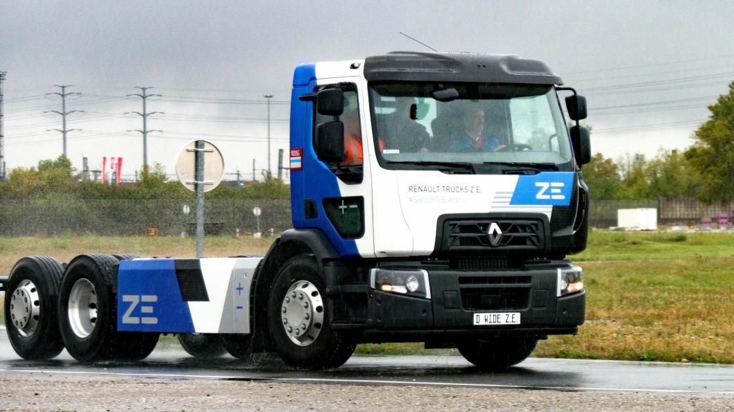 KLAR: Renault åpner for salg av den elektriske lastebilen D Z.E. og D Wide Z.E. I 2020 skal fabrikken produsere 50 batteridrevne D-serie Z.E. Fem av disse skal selges i Norge.