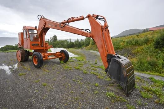 64-MODELL: Ole Martin Almelid fikk først tak i denne Brøyt X2-maskinen før det dukket opp en til som er i bedre stand.