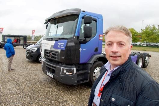 FORVENTNINGER: Renault-sjef Viggo Noreng har store forhåpninger til de nye elektriske drivlinjene som nå kan selges.