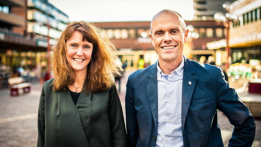 Utbyggingssjef i Sporveien, Hanna Rachel Broch og plandirektør i Ruter, Snorre Lægran har et veldig stort tunnelprosjekt under oppseiling i Oslo.