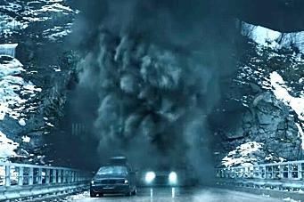 Ny norsk spenningsfilm om vogntog-brann i tunnel