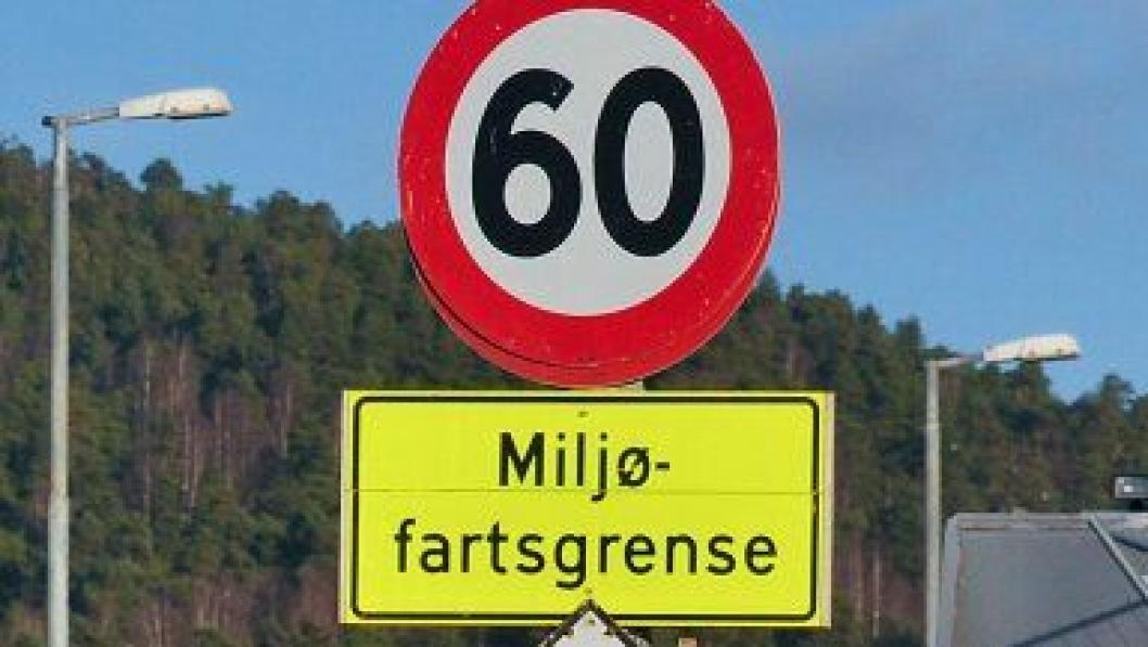 Miljofartsgrense 60 km t Foto SVV