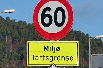 Miljøfartsgrense i Oslo fra 1. november igjen