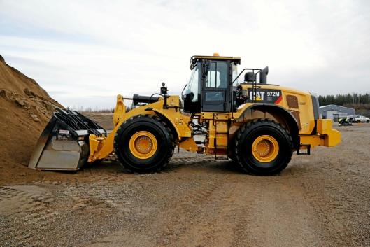 CAT 972M XE: Denne maskinen inneholder litt ekstra som reduserer forbruket betydelig.