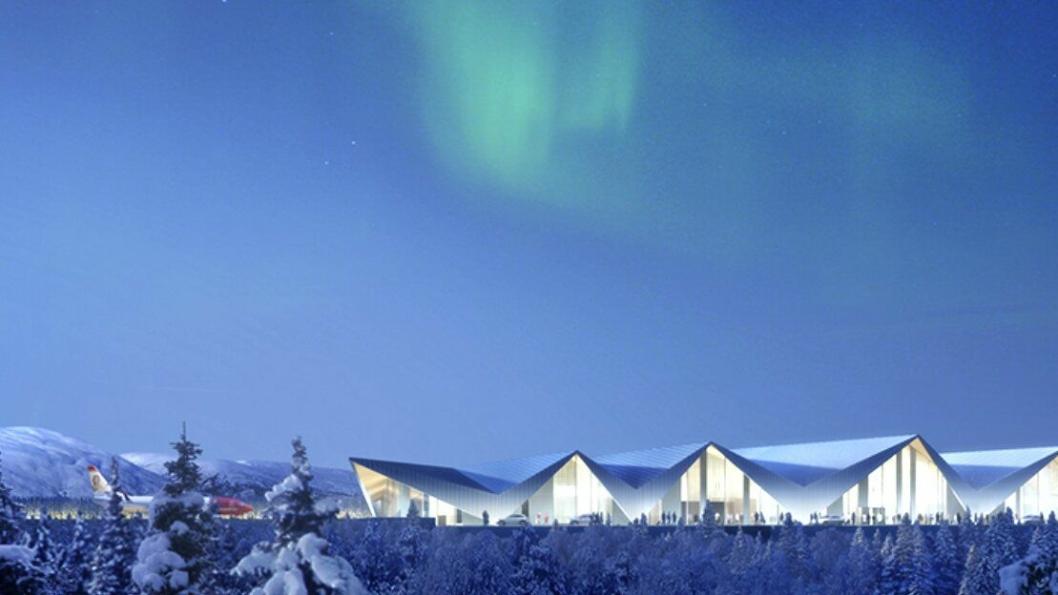 Af Gruppen Norge og Peab Anlegg konkurrerer om totalentreprise for bygging av ny lufthavn i Mo i Rana i Nordland.