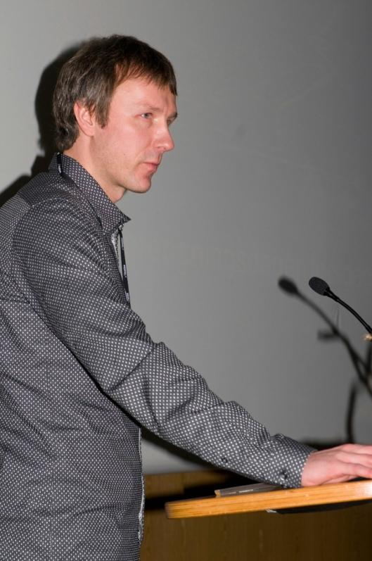 Arne Langeland, prosjektleder Ny Gruve Lunckefjell orienterte om planene for Lunckefjell på Fjellsprengningskonferansen.