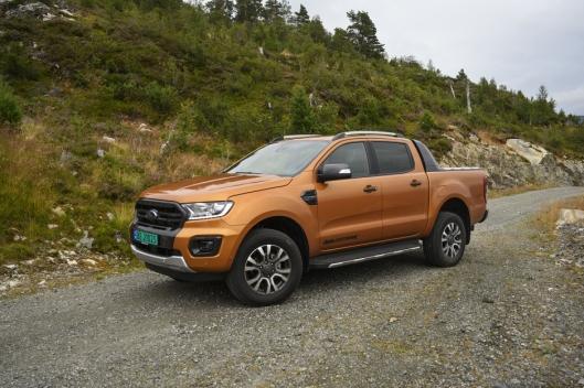 TØFF: Ford Ranger har vært og er fortsatt en tøff bil som også er god på landeveien.