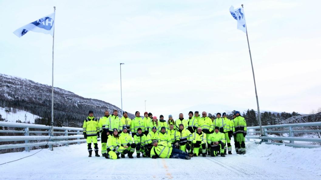 Det er Hæhre Entreprenør som har bygget de 62 kilometerne med ny europavei mellom Korgen og Bolna.
