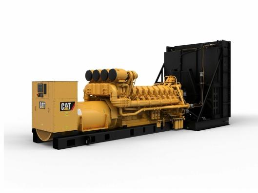 Tre slike Cat C175-16 (3100kVA) generatorsett skal på plass i Longyearbyen.
