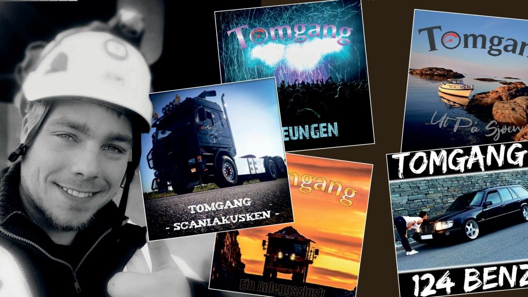 Så langt er sangene til Steinar Heia spilt over 3,5 millioner ganger via forskjellige strømmetjenester.