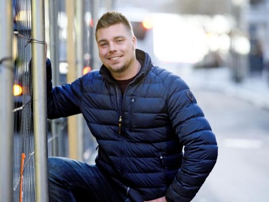 LÅTENE: Inspirasjonen til musikken til Steinar Heia finner han både på jobb og i fritiden.
