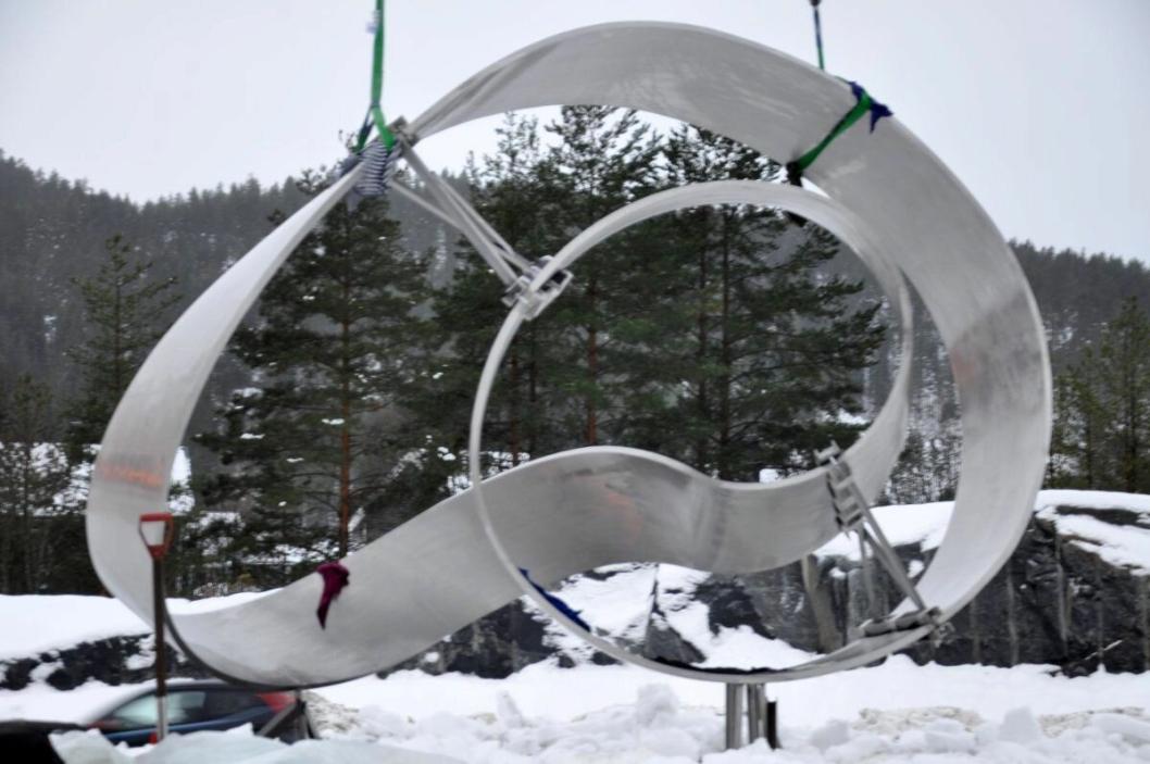 Det er også montert en mindre Møbius-konstruksjon på prosjektet, Møbius 2.