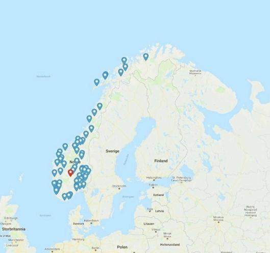 Ifor Williams Norge har skaffet seg et landsomfattende forhandlernett i løpet av de siste årene.