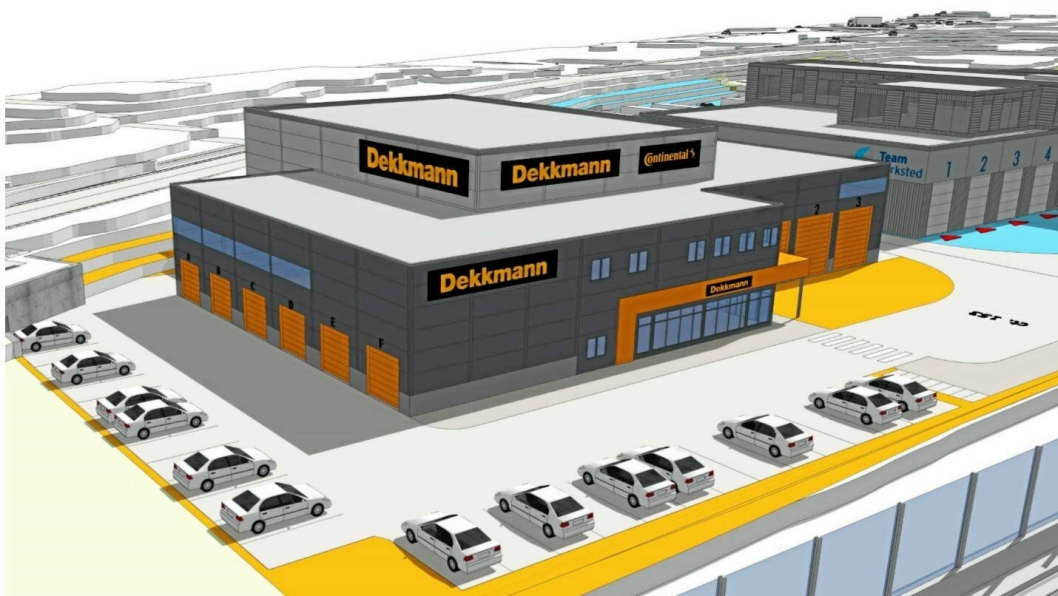 Slik blir Dekkmanns nye avdeling på Sandmoen i Trondheim.