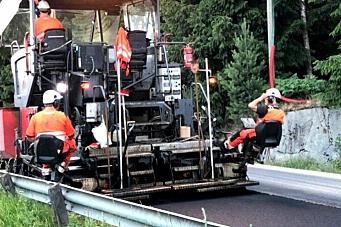 Vegvesenet: – Suksess for klimavennlig asfalt