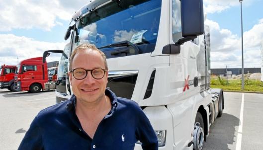 TAR OVER: Magnus G. Karlsson (Sverige) er ny midlertidig direktør for MAN-selskapene i Norge, Sverige og Danmark Foto: MAN