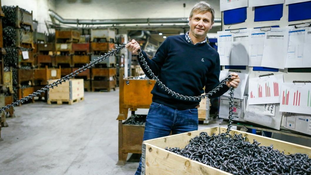 DET TRYGGE VALGET: – Vi vet at produktene våre holder, sier markedssjef i Nøsted &, Kjetil Aukland.